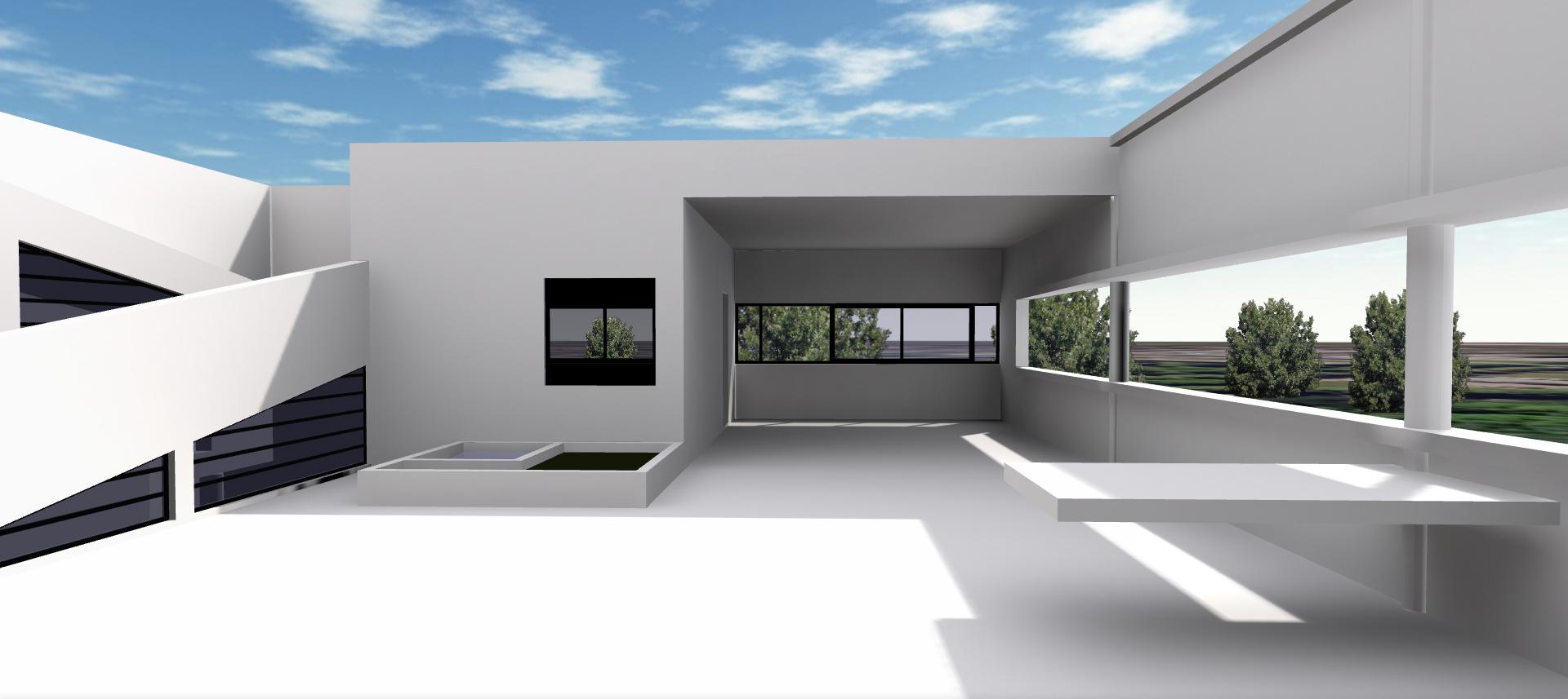 Villa savoye imaj n for Architecture contemporaine